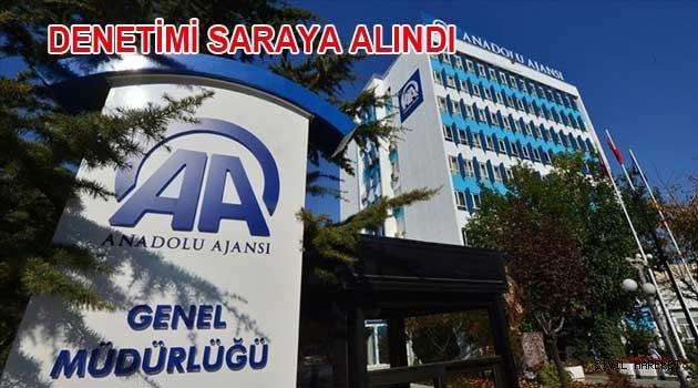 AA'NIN DENETİMİ SARAYA ALINDI