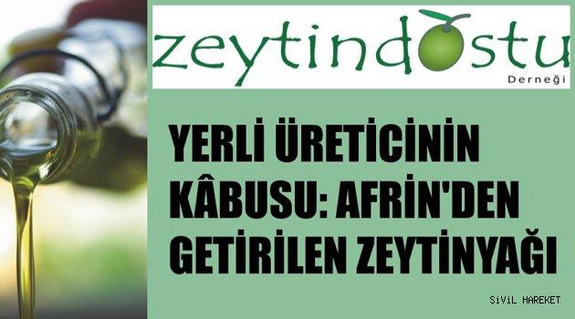 """AFRİN ZEYTİNYAĞLARI """"TİCARİ SIR"""" MIŞ!!!"""