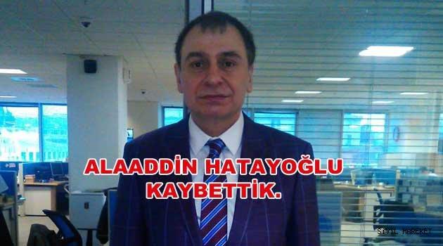 Alaaddin Hatayoğlu cenaze Töreni