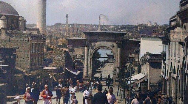 Azapkapı ,1900'lerden muhteşem bir fotoğraf