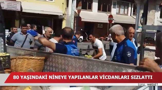 Bursa'da Zabıtaya büyük Tepki