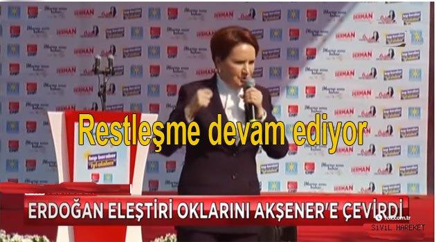 Erdoğan Akşeneri tehdit etti