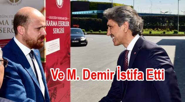 Fatih Bld. Başkanı Mustafa Demir istifa Etti.
