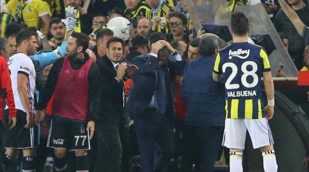 FB-BJK Ziraat Türkiye Kupası maçı tatil edildi