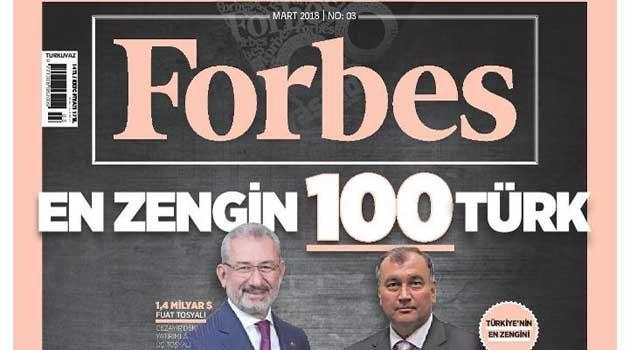 FORBES 100 Türkiye'nin en zenginleri