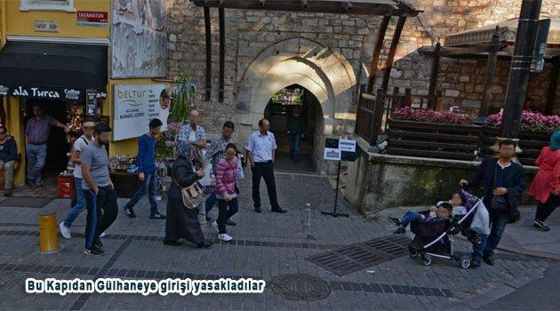 Gülhane parkı Tramvay giriş kapısı Halka açıldı