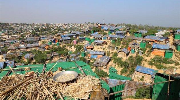 1,3 milyon Arakanlı'ya insani yardım