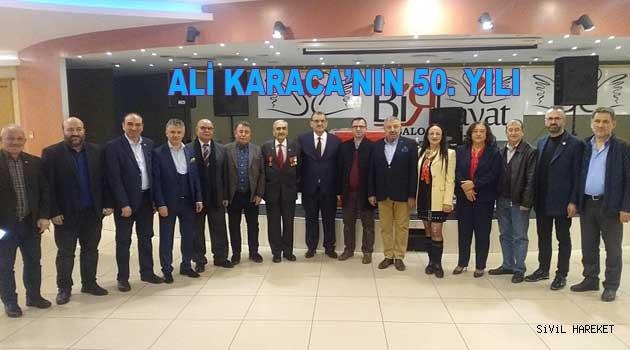 Ali Karaca ile 50. yıl Şiir gecesi