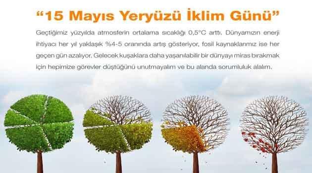 Bugün Dünya İklim Günü.