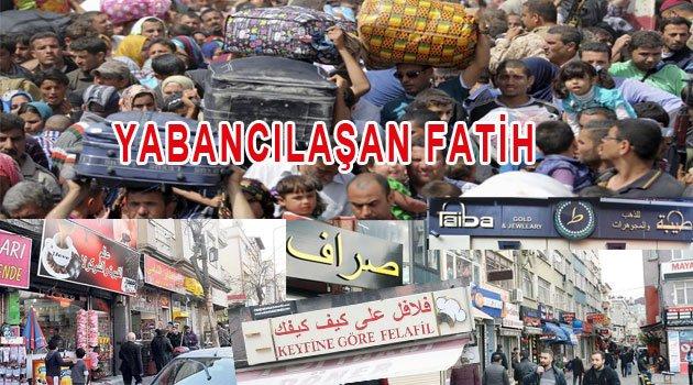 Fatih'i Fetihle Aldık Göçerlere terk ediyoruz
