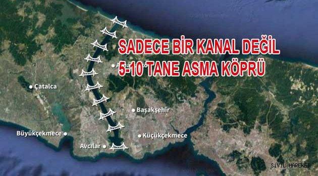 İBB'nin Kanal İstanbulu araştırmasına izin yok