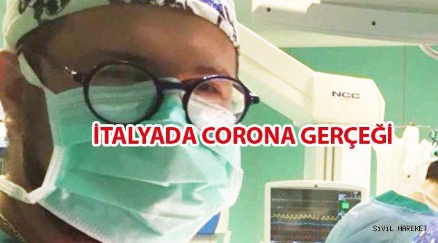 İtalyada Corona ve Bir doktorun feryatları