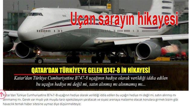 Katar B747-8 uçağı THY Hikayesi