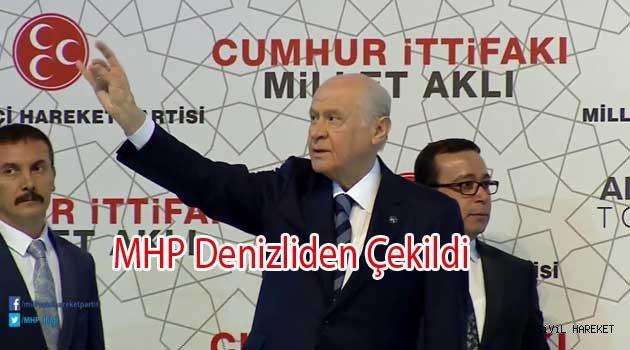 MHP Denizliyi Akp ye bıraktı