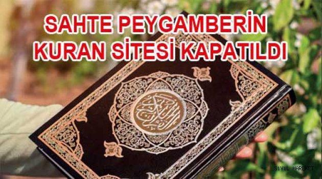 Mir tarikatı Kuran Sitesi kapatıldı