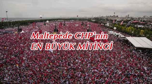 Muharrem İnce'nin tarihi İstanbul mitingi