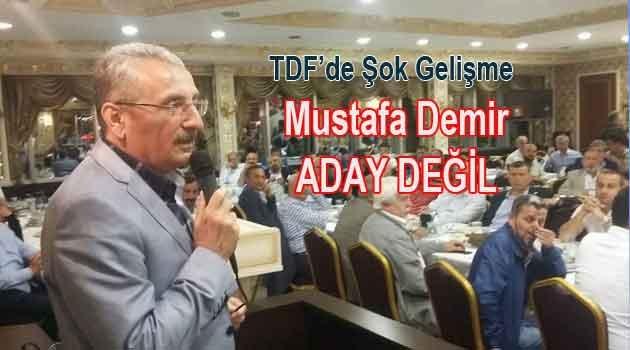 Mustafa Demir İstifa etti