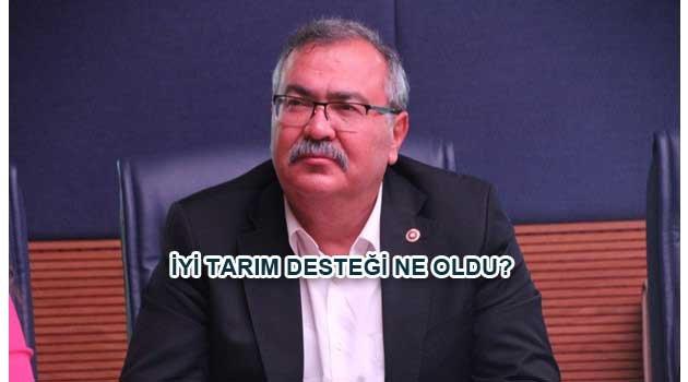 ÖDENMEYEN İYİ TARIM DESTEĞİ TBMM'İNDE