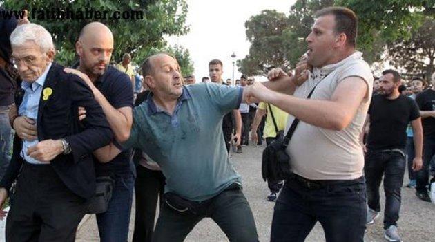 Pontusçu fanatikler Başkana Saldırdı