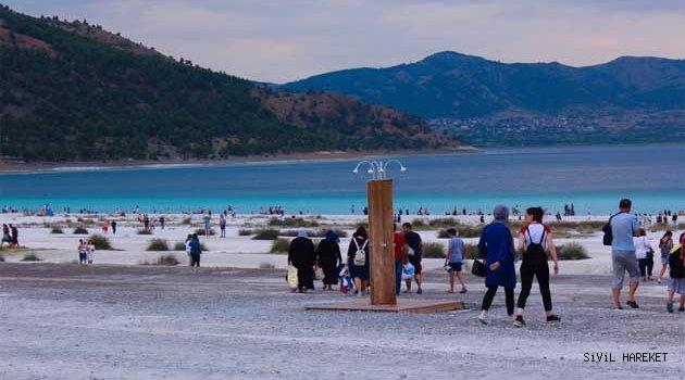 Salda Gölüne yapılacak proje