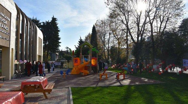 Sevda Sabancı Kreş ve Anaokuluna çocuk parkı