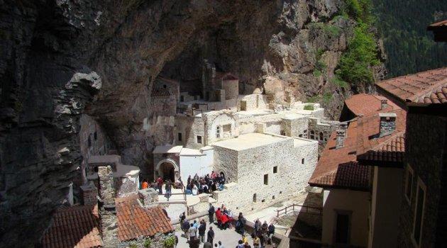 Sümela Manastırında Provokasyon