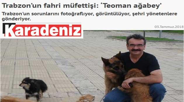 Taka'dan İftira, Karadeniz'den Teşekkür