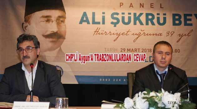 Tekirdağ Milletvekili İlhami Özcan Aygun'e cevap