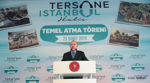 Tersane İstanbul'da temel atıldı