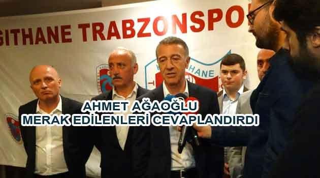 TS Başkanı A. Ağaoğlu ile İftarda açıklamalar