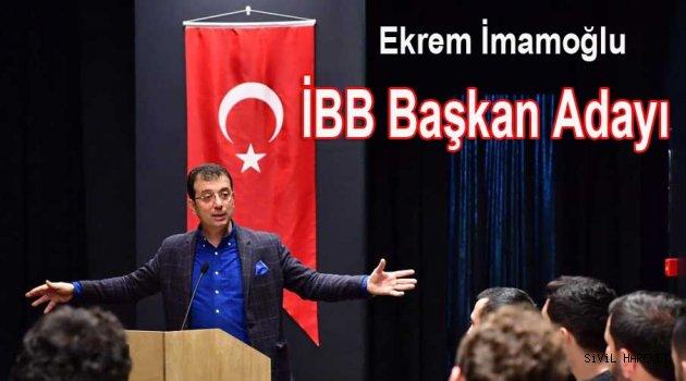 Ve CHP istanbul İBB adayını açıkladı