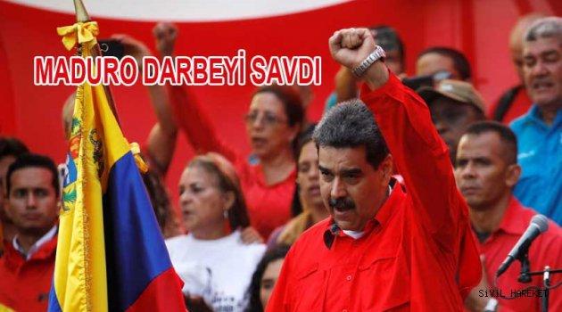 Maduro: Darbe teşebbüsünü Savmayı başardı