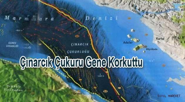 Marmarada  4.3 Deprem KORKUTTU