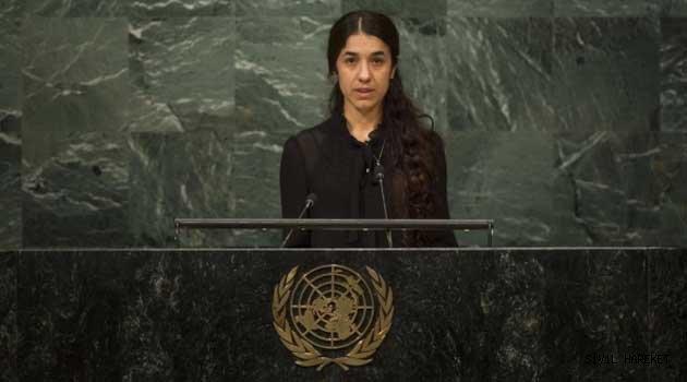 Nobel Töreninde Nadia Murad'ın konuşması