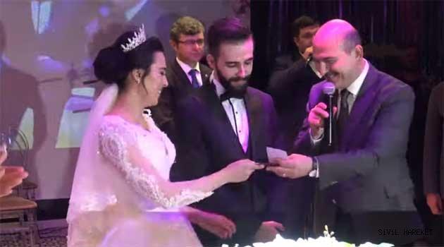 S. Soylu Of'luların nikah töreninde şahit oldu