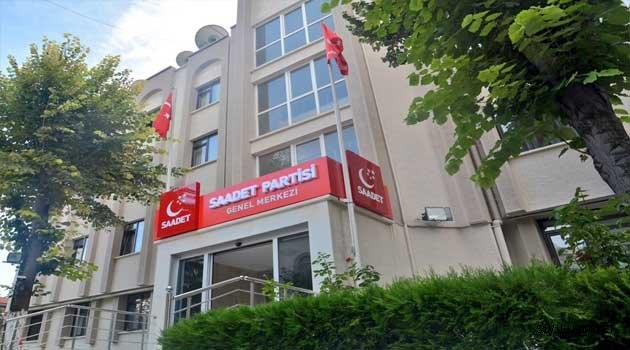 Saadet partisi genel merkezi boşaltılıyor