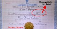 YSK Erdoğan'ın diploma  itirazını reddetti