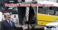 Trabzonda Ucuz atlatılan Kaza
