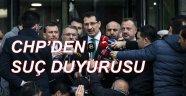 CHP'DEN AKP'YE SUÇ DUYURUSU