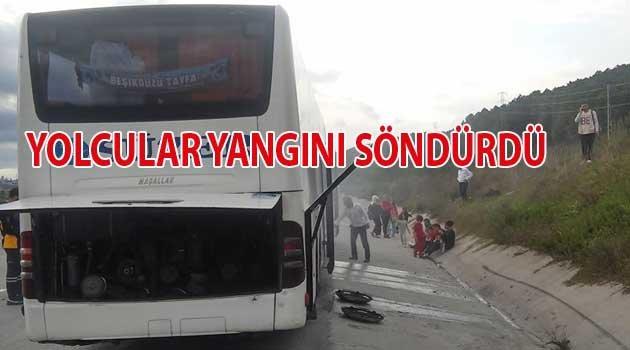 TDF Trabzon Misafir kafilesi Yanıyordu.