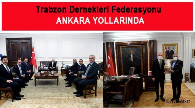 TDF yönetiminden  Ankara ziyareti