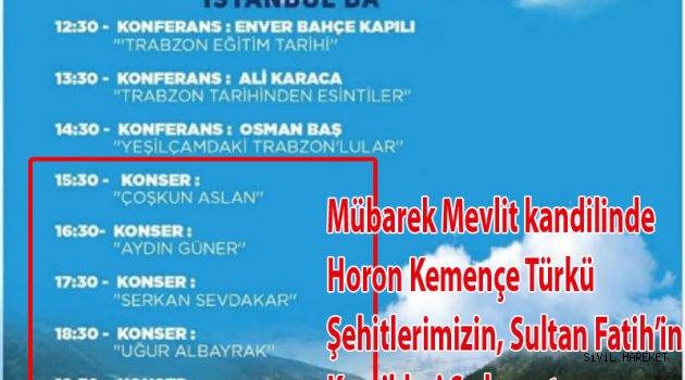 Trabzon Fethi 560. yıl şenliği