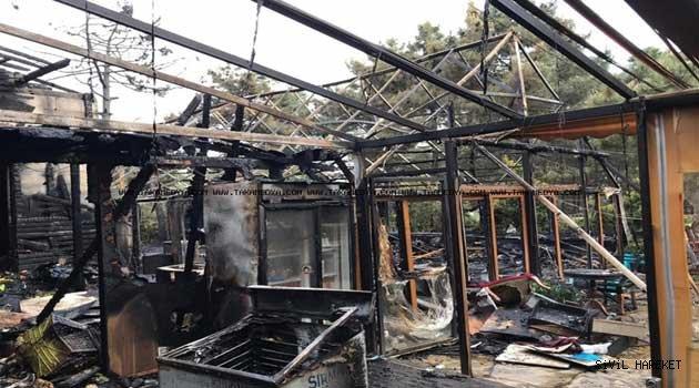 TİAB Trabzonparkta Yangın