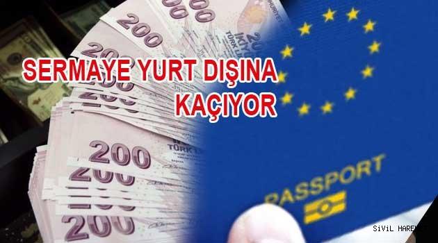 Türkler kitleler halinde ülkeyi terk ediyor