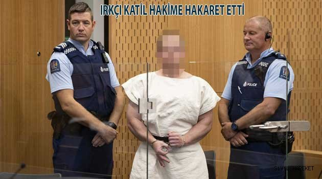 Yeni Zellanda Katili Tutuklandı
