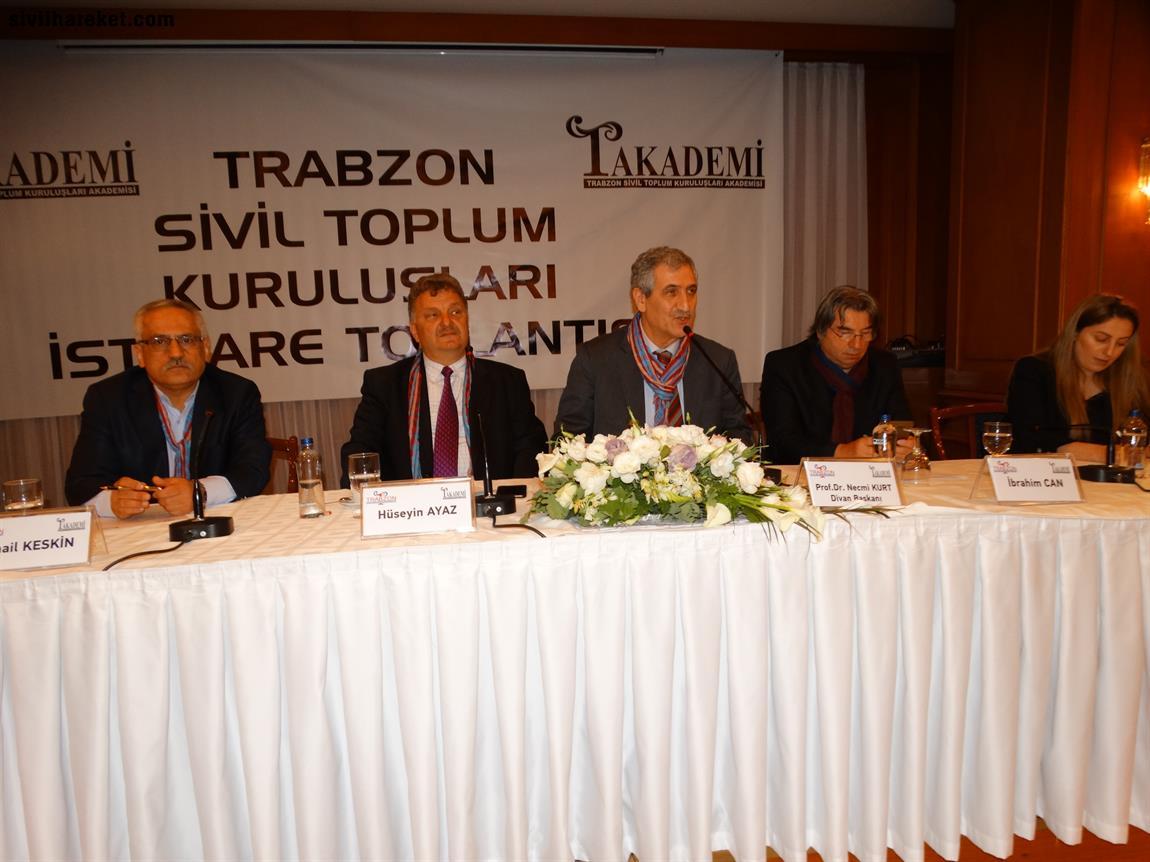 Trabzon STK akademisi istişare toplantısı