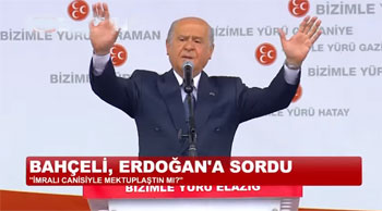 Devlet Bahçeliden Erdoğana Öğütler