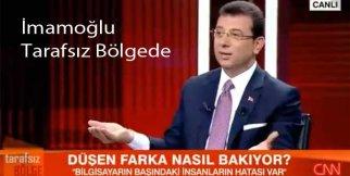 Ekrem İmamoğlu Ahmet Hakan Tarafsız Bölgede