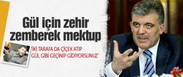 Ahmet Hakan'dan Cumhurbaşkanı'na