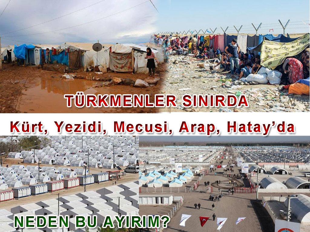 Tayfun Talipoğlu Mülteci kampları ziyaretinden
